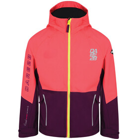 Dare 2b Modulate Jacket Kids Neon Pink/Blackcurrant Purple